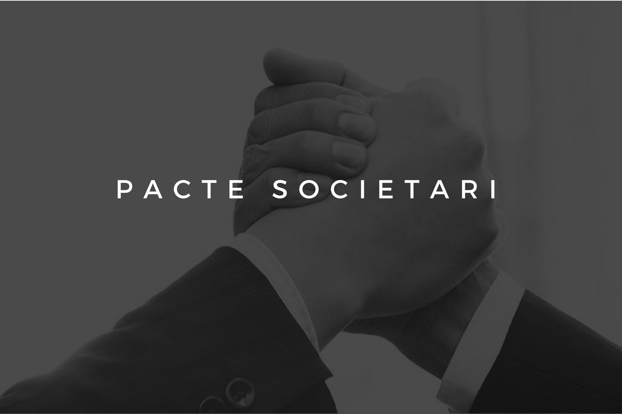 Conflictes Entre Socis, Avantatges Del Pacte Societari