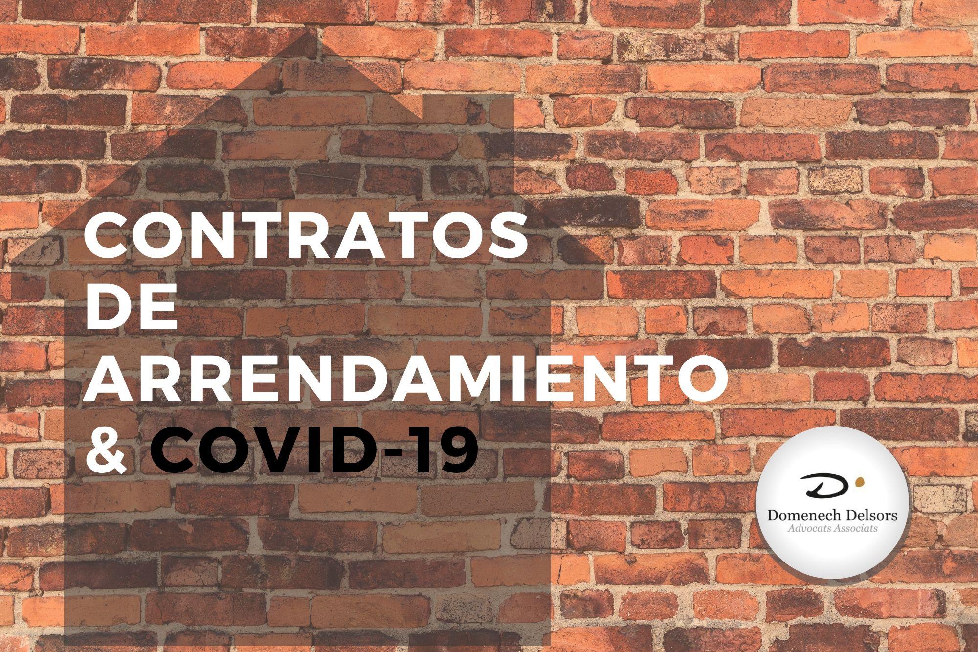 Última Hora: Contratos De Arrendamiento Y Covid 19