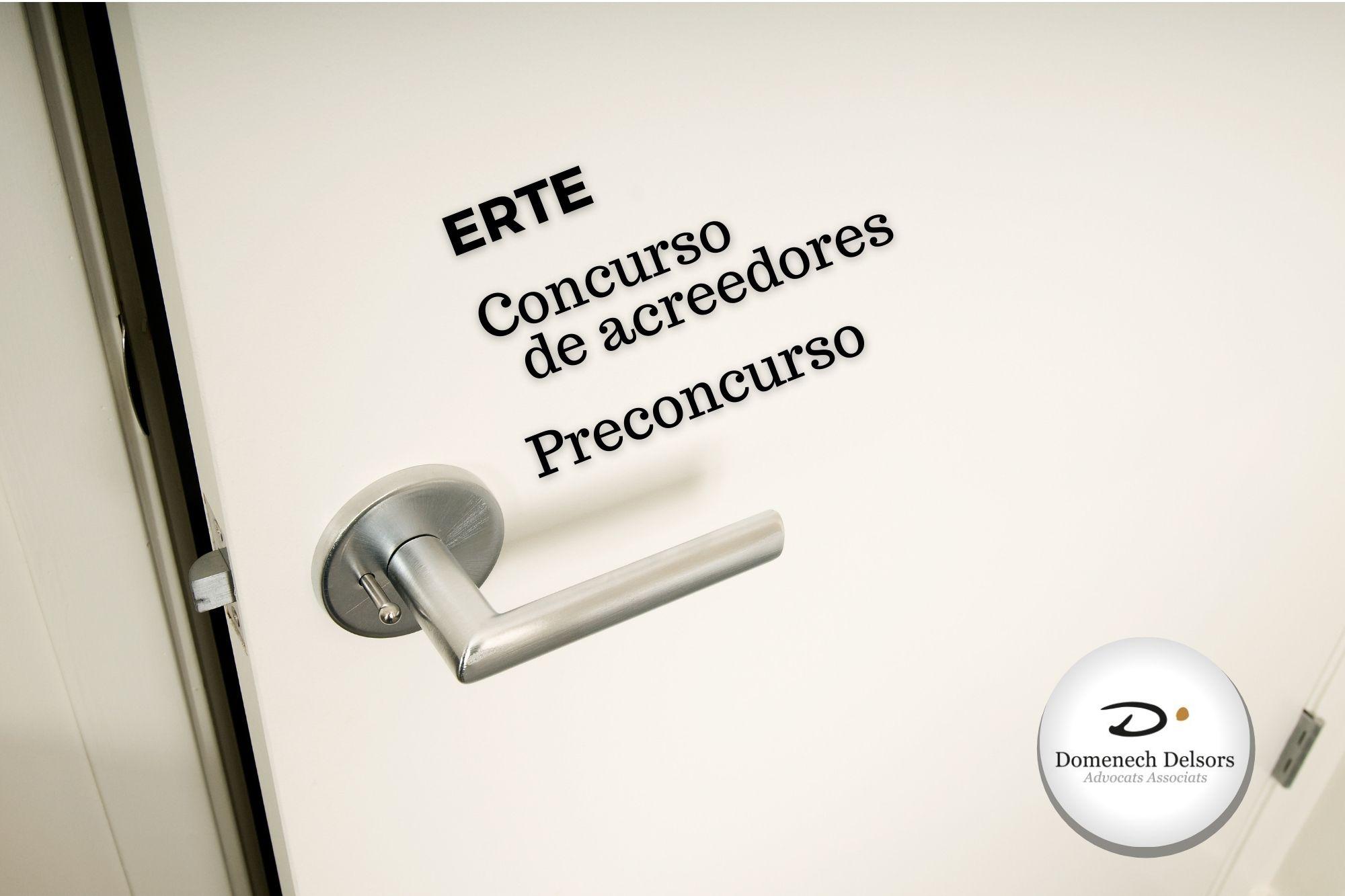 ERTE Y Concurso De Acreedores, Soluciones Frente A La Crisis De La Covid-19